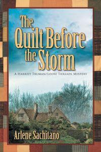 Arlene Sachitano:  My Latest Book, #5 in the Loose Threads series.