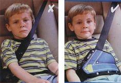 1 Pièce Couleur Aléatoire Bébé Soins De Voiture Siège de Sécurité Ceinture Triangle Protéger Enfants Voiture de Sécurité Ceinture Réglable