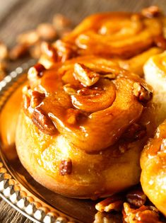 Sticky Buns via Deliciously Yum!