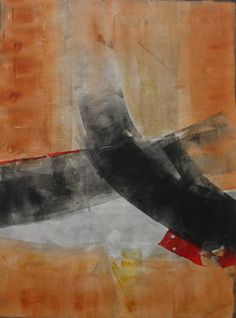"Saatchi Art Artist Twyla Gettert; Printmaking, ""Traveler"" #art"
