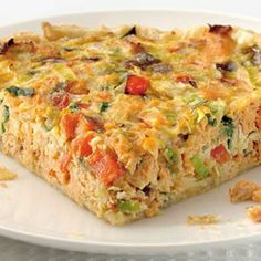 Savory pie with salmon - Dutch Recipes, Fish Recipes, Quiches, Spinach Quiche Recipes, My Favorite Food, Favorite Recipes, Good Food, Yummy Food, Oven Dishes