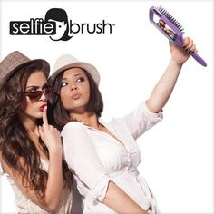 The Selfie Brush: We were all holding out for that perfect way to incorporate selfies into our hair-brushing routine — and behold, it has finally arrived: enter the Selfie Brush iPhone case. Never will your hair look less than excellent in a selfie again. The Selfie Brush is a paddle-like brush doubling as an iPhone 5 and 5s cover. (You may want to consider this before upgrading to a iPhone 6 — with which it is not compatible.) #tech