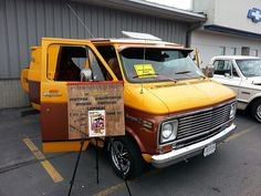 1976 Chevy custom van at the Brenengen Chevrolet Car Show - July 2013