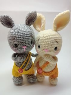 Our goal is to keep old friends, ex-classmates, neighbors and colleagues in touch. Octopus Crochet Pattern, Crochet Bunny Pattern, Crochet Rabbit, Crochet Animal Patterns, Crochet Patterns Amigurumi, Amigurumi Doll, Crochet Animals, Crochet Baby Toys, Crochet Dolls