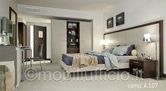 comp. A.107 – #arredamento per #camera #hotel o camera #albergo con tutti i confort possibili…