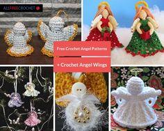 30 Free Crochet Angel Patterns + Crochet Angel Wings | AllFreeCrochet.com