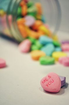 16 Colorful Pictures of Sweethearts Candy (photo by Sarah Buckley)