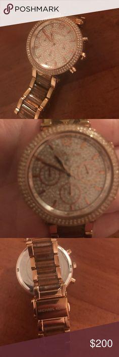 Michael kors watch rose gold Rose gold watch Michael Kors Jewelry