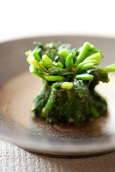 Japanese Food Horenso Goma-ae, Sesame Spinach Salad|ホウレン草の胡麻和え