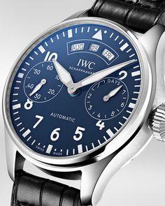 "7,031 отметок «Нравится», 17 комментариев — IWC Schaffhausen (@iwcwatches) в Instagram: «#IWCPilot's Watch Annual Calendar Edition ""150 Years"": keeping the dream of flying alive. #IWC150…»"