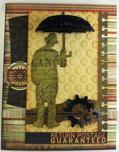 Design Inventions: More Tim Holtz Inspired Cards