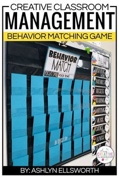 Creating a positive and motivating classroom environment can be difficult but this fun game will engage your learners and help them reinforce positive choices in the classroom. This matching game can be displayed anywhere in your classroom as the students earn chances to flip two cards over to see if they get a prize match.