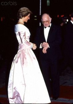 Diana Princess of Wales style gown!