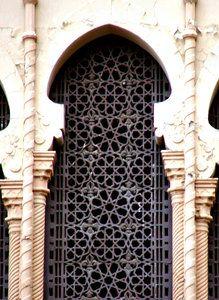 beautiful Moorish / arabesque door