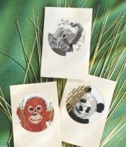 Free endangered animals cross stitch patterns
