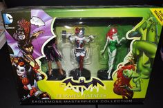 DC Comics Femmes Fatales Eaglemoss Masterpiece Collection