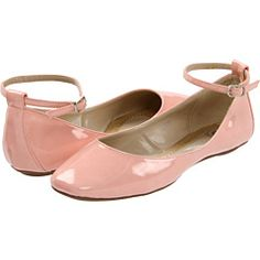 love flats with ankle straps.