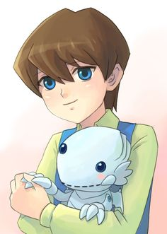 Kaiba boy with his fluffy Blue Eyes. OMG so CUTE!!!!