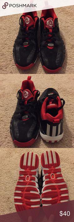 pretty nice 3436e b41b5 Adidas Derrick Rose Black Low-Tops