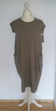 Made in Italy* Eggshape ShirtKleid, taupe