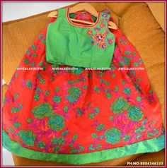 Kids tradational wear designs by Angalakruthi boutique Bangalore
