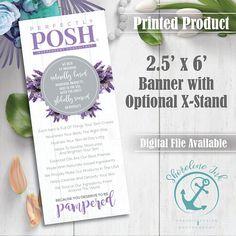 Perfectly Posh  'Lavender'  2.5' x 6' Event