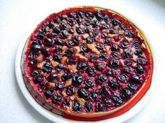 Plum tart: This tart made with sweetcrust pastry and almond cream is especially tasty with those rather sour little plums that can be found in such profusion in late summer.