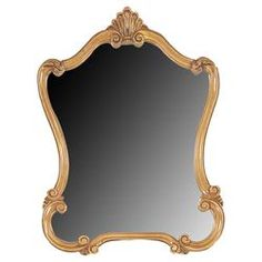 Walton Mirror in Gold