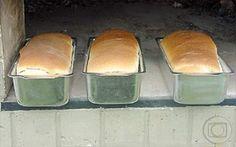 Pão Assado no Forno à Lenha | Pães e salgados > Receitas de Pão | Mais Você - Receitas Gshow