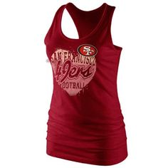 @Fanatics ® #FanaticsWishList   49ers  Ladies Tank Top