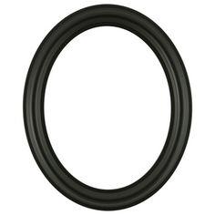 7f7b89ec7fd  460 Oval Frame - Matte Black Oval Frame