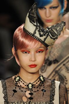 A is for Anna Sui: New York Fashion Week Spring 2013 - Detail.