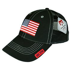 usa flag snapback black hat 1 size fits all e8592c5447f3