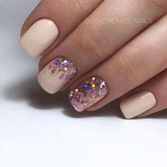 Semi-permanent varnish, false nails, patches: which manicure to choose? - My Nails Glam Nails, Pink Nails, Glitter Nails, Beauty Nails, Perfect Nails, Gorgeous Nails, Love Nails, Powder Nails, Trendy Nails