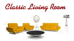 Looking for a new design for your living room? Check out this design! #Living #Classic http://www.polyvore.com/cgi/set?id=206943242