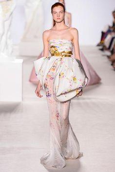 Giambattista Valli Fall 2013 Haute Couture, Paris.  Models: Anastasia Ivanova