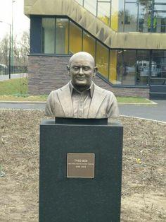 Beeld Theo Bos op Papendal in Arnhem.