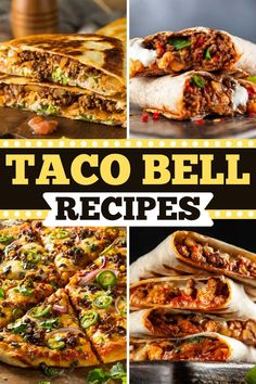 Taco Bell Recipes, Beef Recipes, Chicken Recipes, Cooking Recipes, Taco Bell Copycat, Baja Sauce, Crunchwrap Supreme, Nacho Cheese, Red Sauce