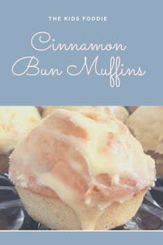 These muffins combine all the deliciousness of Cinabon, Chelsea Buns, and even remind me a bit of iced donuts. They are a great tea time treat, for bake sales  or to pop in lunch boxes.
