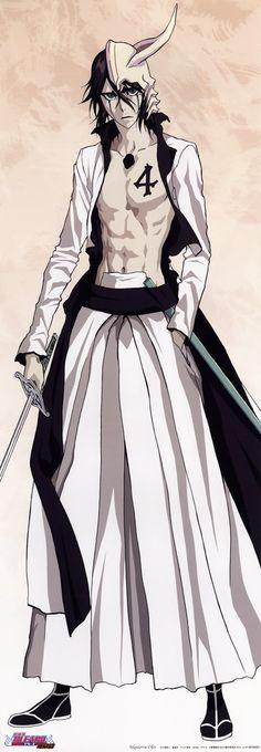 Ulquiorra Cifer (Arrancar, Espada 4) Manga Anime, Comic Manga, Anime Comics, Bleach Manga, Shinigami, Ulquiorra And Orihime, Orihime Bleach, Kenpachi Zaraki, Bleach Characters