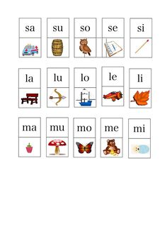 Speech Language Pathology, Speech And Language, First Grade, Montessori, Cool Kids, Alphabet, Preschool, Playing Cards, Teaching