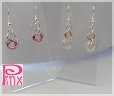 'Gorgeous Chainmaille Dangles ' is going up for auction at  6pm Tue, Sep 11 with a starting bid of $10.