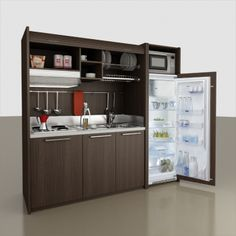 Product Range | MiniKitchens - Space Saving Self-Contained Kitchens by Mobilspazio