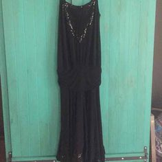 Ella Moss Black Dress Sequined - Mercari: Anyone can buy & sell