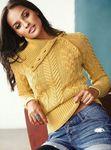 Мобильный LiveInternet Желтый свитер от VS | Хьюго_Пьюго_рукоделие - рукоделие, вязание, кулинария, домоводство |