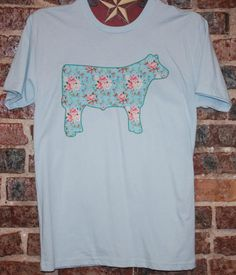 Steer Tshirt COW Tshirt Cow T Shirt Steer T Shirt Cowgirl