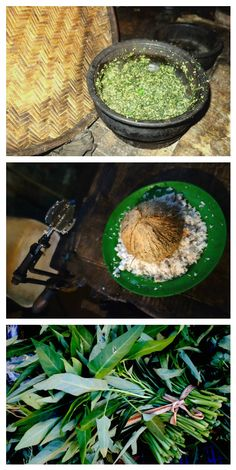 Kang kung - water spinach with coconut - authentic video recipe filmed in a Sri Lankan village