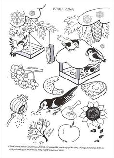Coloring For Kids, Coloring Pages For Kids, Feeding Birds In Winter, Country Quilts, Winter Art, Forest Animals, Free Motion Quilting, Christmas Colors, Preschool Crafts