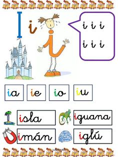 Álbumes web de Picasa Hands On Activities, Learning Activities, Kids Learning, Abc Preschool, Numbers Preschool, Have Fun Teaching, Teaching Spanish, Spanish Lessons, Phonics