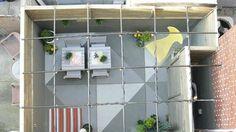 PVC Pergola - Here's an interesting Pergola idea for the back patio using PVC piping.
